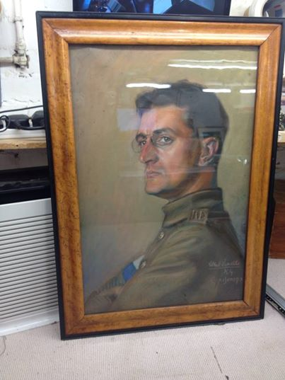 This amazing original Pastel was brought into FRITH FRAMES in Carshalton Surrey.